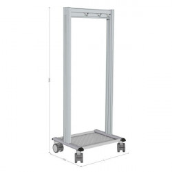 5S mobile cleaning station | NETPOST 600
