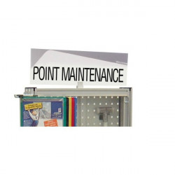 "Design headband ""MAINTENANCE POINT"""