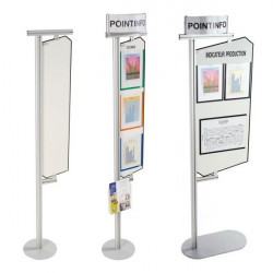 Display stand with magnetic surface | COM'DESIGN