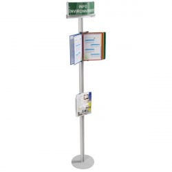 Environment poster display bracket | COM'DESIGN ENVIRONMENT