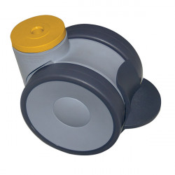 ESD Swivel castors with brake | ESD swivel castors
