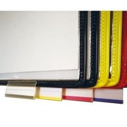 Filing tabs for DOCAFLEX swivel document sleeves