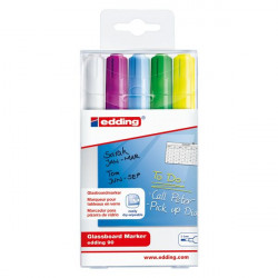 Liquid chalk markers for glass board