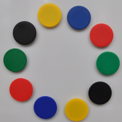 Magnetic drawing pins