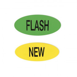 Magnetic FLASH & NEW pictograms