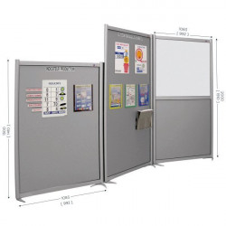 Modular office or workshop partition | MULTISPACE