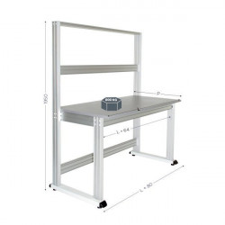 Modular quality workstation | QUALIPOST 3000B