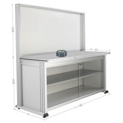 Modular quality workstation | QUALIPOST 3000D