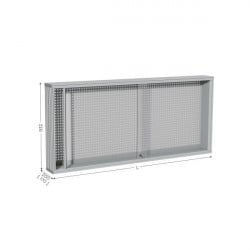 Perforated tool holder panel   MAINTPOST 300A WALL-MOUNTED