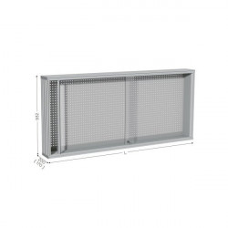 Perforated tool holder panel | MAINTPOST 300A WALL-MOUNTED