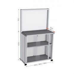 Quality control and communication station   QUALIPOST 600D