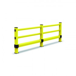 Rail and lower tube for circulation barrier axis to axis | Circulation barrier