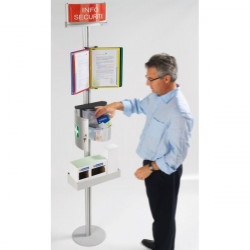 Safety poster display bracket | COM'DESIGN SAFETY