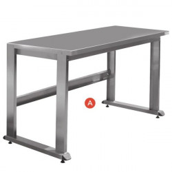 Stainless steel workstation | QUALIPOST 3500A STAINLESS STEEL