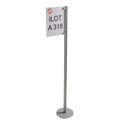 TOTEM Aluminium display bracket | TOTEM ILOT