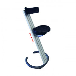 Workshop standing seat with backrest | WORKSHOP STANDING SEAT C