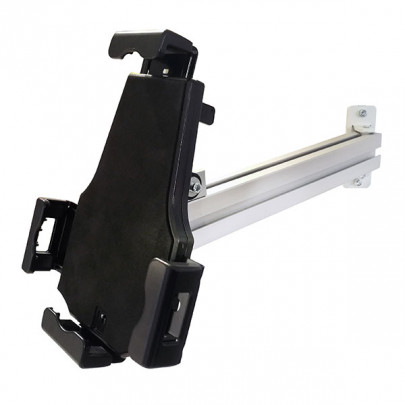 """Adjustable wall-mounted shelf support 8 to 10"""", lockable 