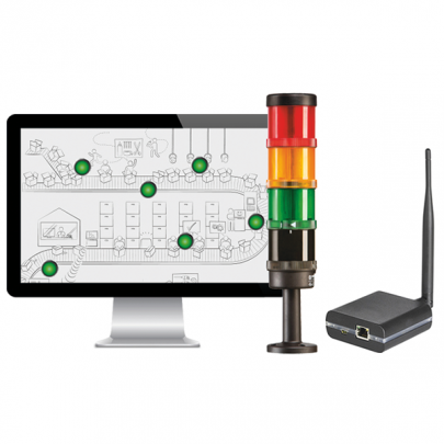 Antenna and ethernet network unit | LEANANDON
