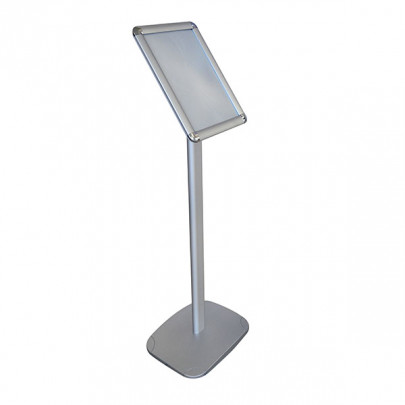 Display holder inclined frame on foot | Inclined frame on foot