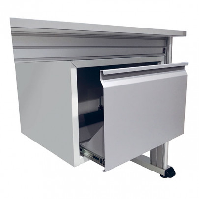 Housing with printer drawer for QUALIPOST 3000