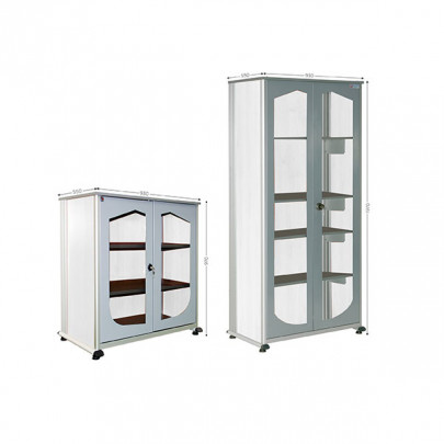 Office storage cabinet   VISUAL CABINET 5S OFFICE