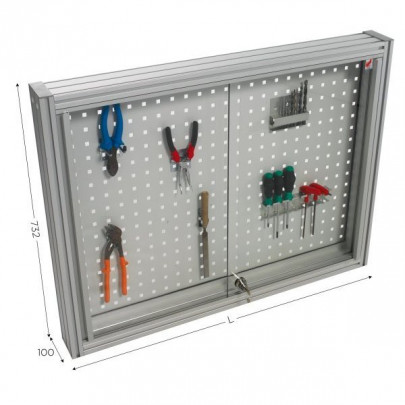 Perforated tool holder panel | MAINTPOST 200B WALL-MOUNTED