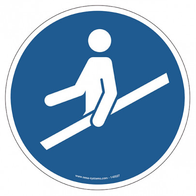 Pictograms Hold the ramp M012
