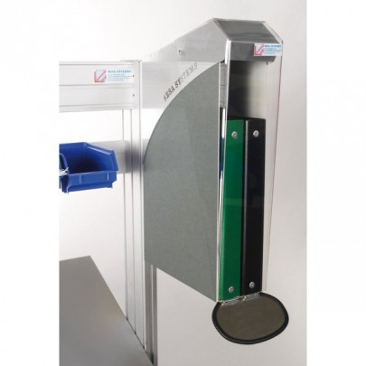 Stainless steel protection box for binders | DOCAPOST 250 STAINLESS STEEL
