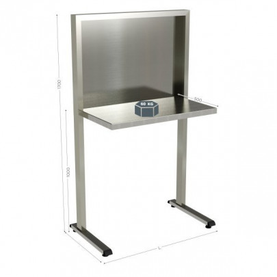 Stainless steel quality control station | QUALIPOST 650C STAINLESS STEEL
