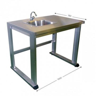 Stainless steel workstation | QUALIPOST 3500C STAINLESS STEEL