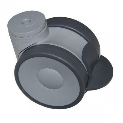 Swivel roller wheels with brakes (Ø 100 mm)