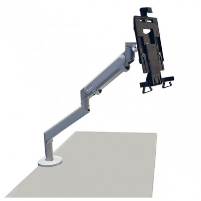Tablet stand with articulated arm