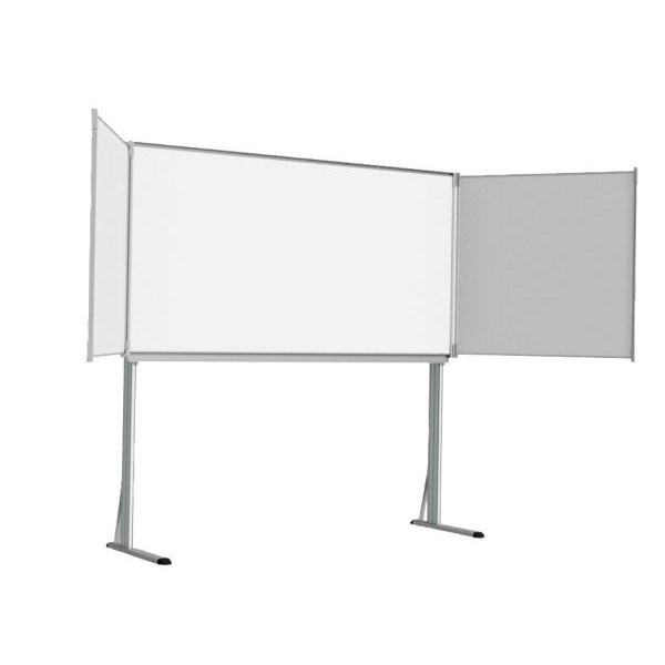 Base for triptych whiteboard | Support for Triptyque