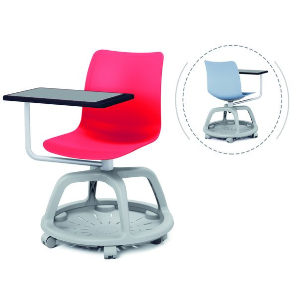Chair with writing tablet | Training chair