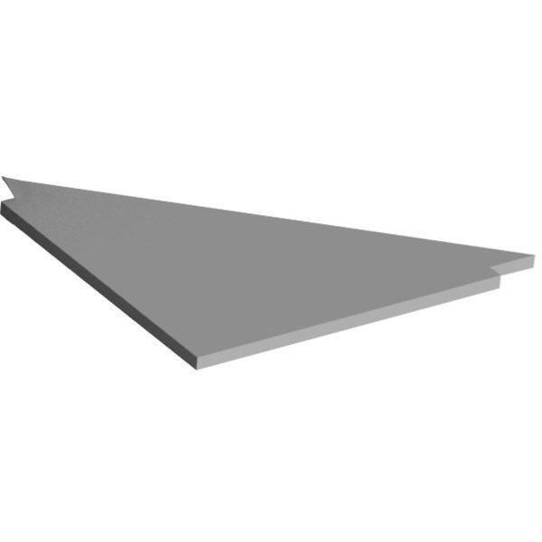 Corner top for QUALIPOST 3000 with fixing kit