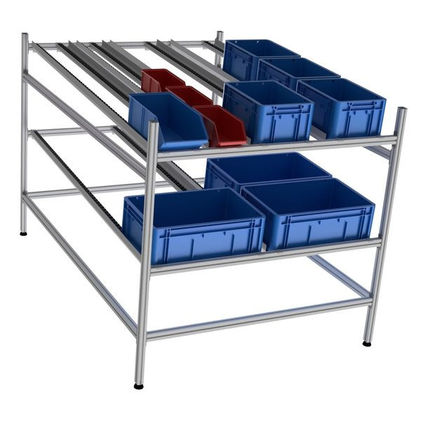 Dynamic shelving | LEANDYNAMIC 500 FIFO