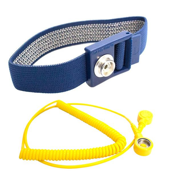 ESD wrist strap with spiral cable | ESD strap