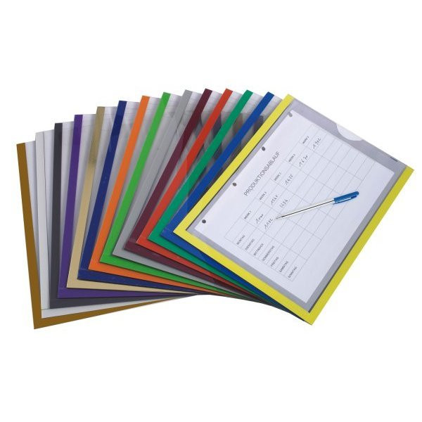 High quality document sleeve with open face | PRODOC WRITER