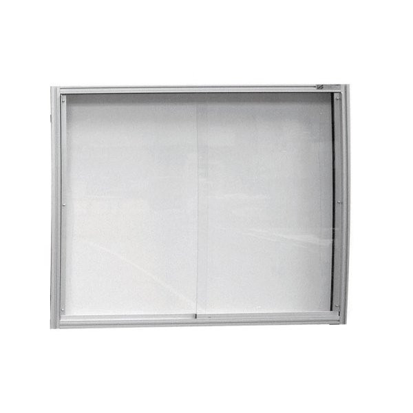 High quality wall-mounted display case | MOD'INFO WALL-MOUNTED DISPLAY CASE