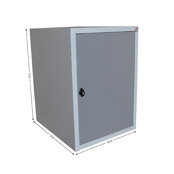 Housing with 1 lockable door QUALIPOST 3000