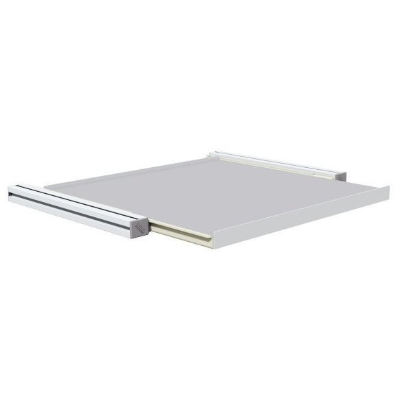 Interior sliding shelf with full extension for MOBIPOST 900