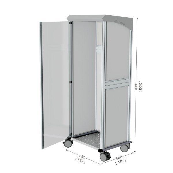 Mobile 5S cleaning station | NETPOST 800