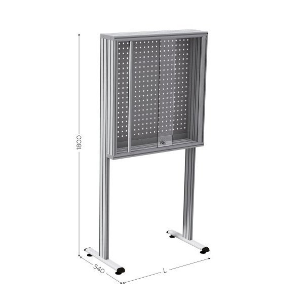 Perforated tool holder panel | MAINTPOST 300B
