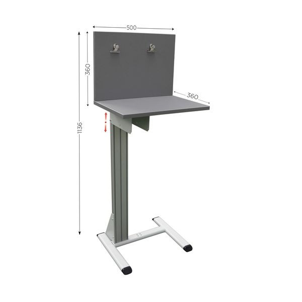 Quality control station on legs   QUALIPOST 300A