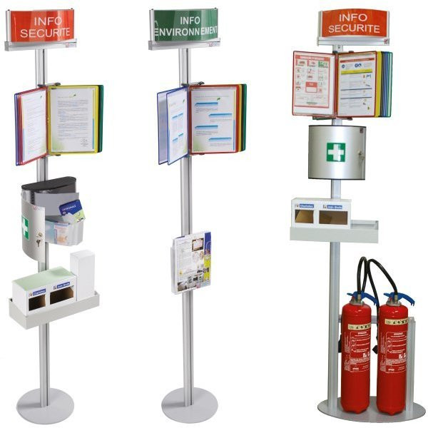 Safety terminal for fire extinguisher   Safety terminal