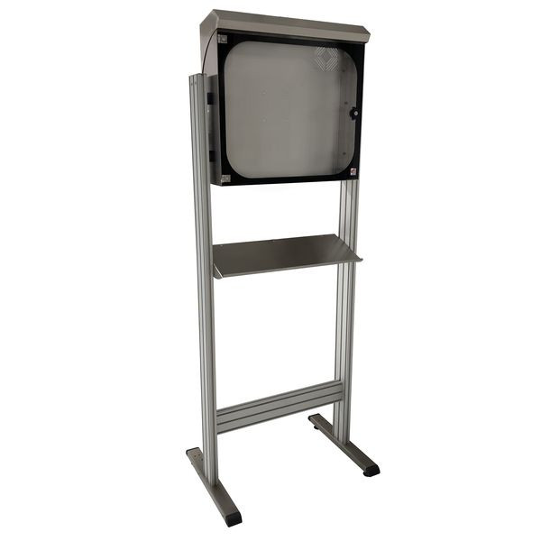Stainless steel computer cabinet | MOBIPOST 550C INOX