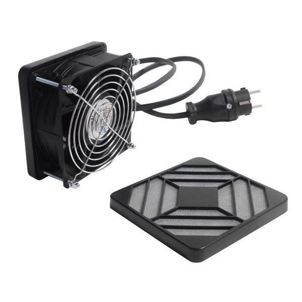 Ventilation kit with filters