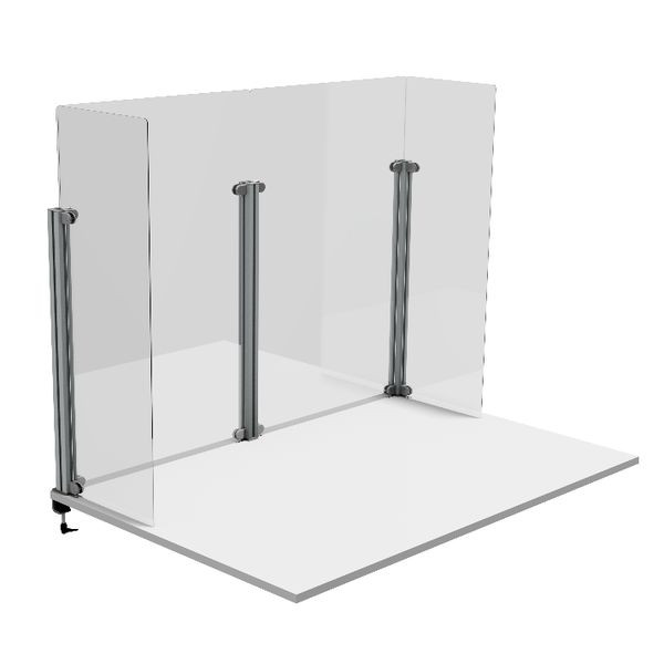 Vertical upright in aluminum profile | Upright in aluminum