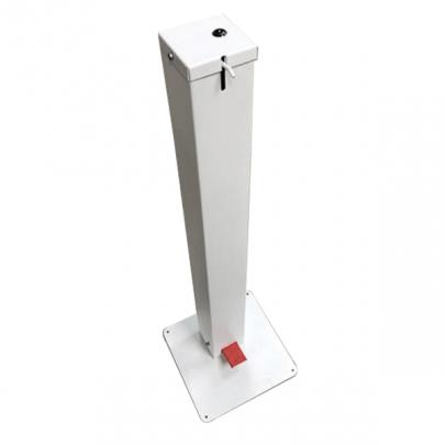 Hydroalcoholic Gel Pedal Dispenser Column