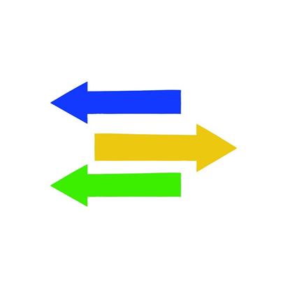 Adhesive arrows
